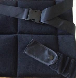 cojín del cinturón para embarazadas por arriba