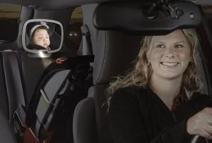 Espejo retrovisor bebe para el coche for Espejo retrovisor coche bebe
